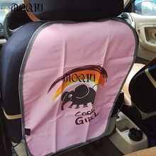 New Style Quilted Protection Anti Kicking Kid Baby Car Seat Back Protector Dirt Wear Interior Accessories YK474(China (Mainland))