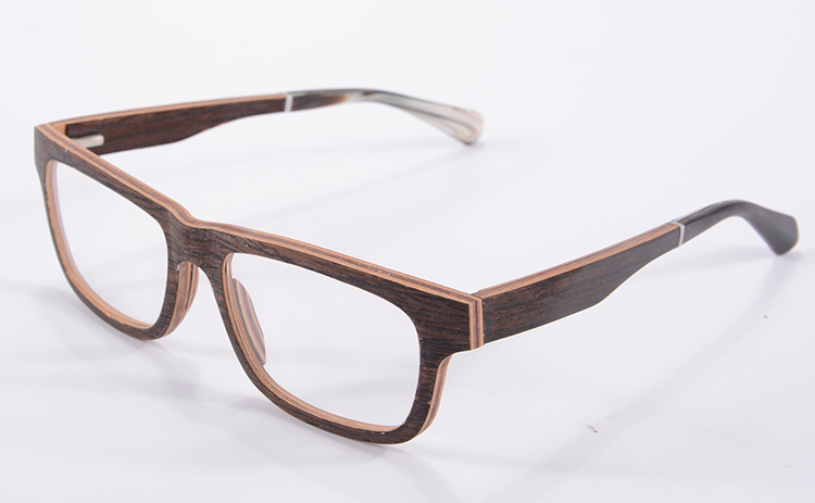Luxury Walnut Wooden Eyeglasses Frame Oculos Masculino Vintage Flexiable Optical Frame Manufacturing China F4(China (Mainland))