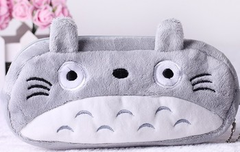 10PCS Japan TOTORO CAT Plush Pen Pencil BAG Pouch Case Pack ; Pendant Cosmetics & Beauty Pouch Case Coin Purse Wallet Pouch