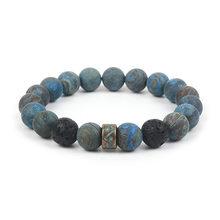 2019 osiem planet bransoletka z koralików mężczyzn naturalny kamień wszechświat joga Chakra bransoletka słoneczna dla mężczyzn biżuteria Drop Shipping MY3(China)