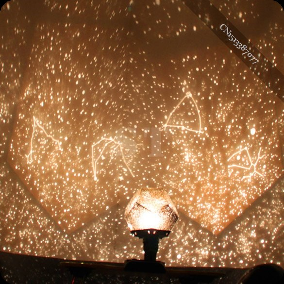 New Fantastic Celestial Star Projector Lamp Night Light Funny DIY Romantic(China (Mainland))