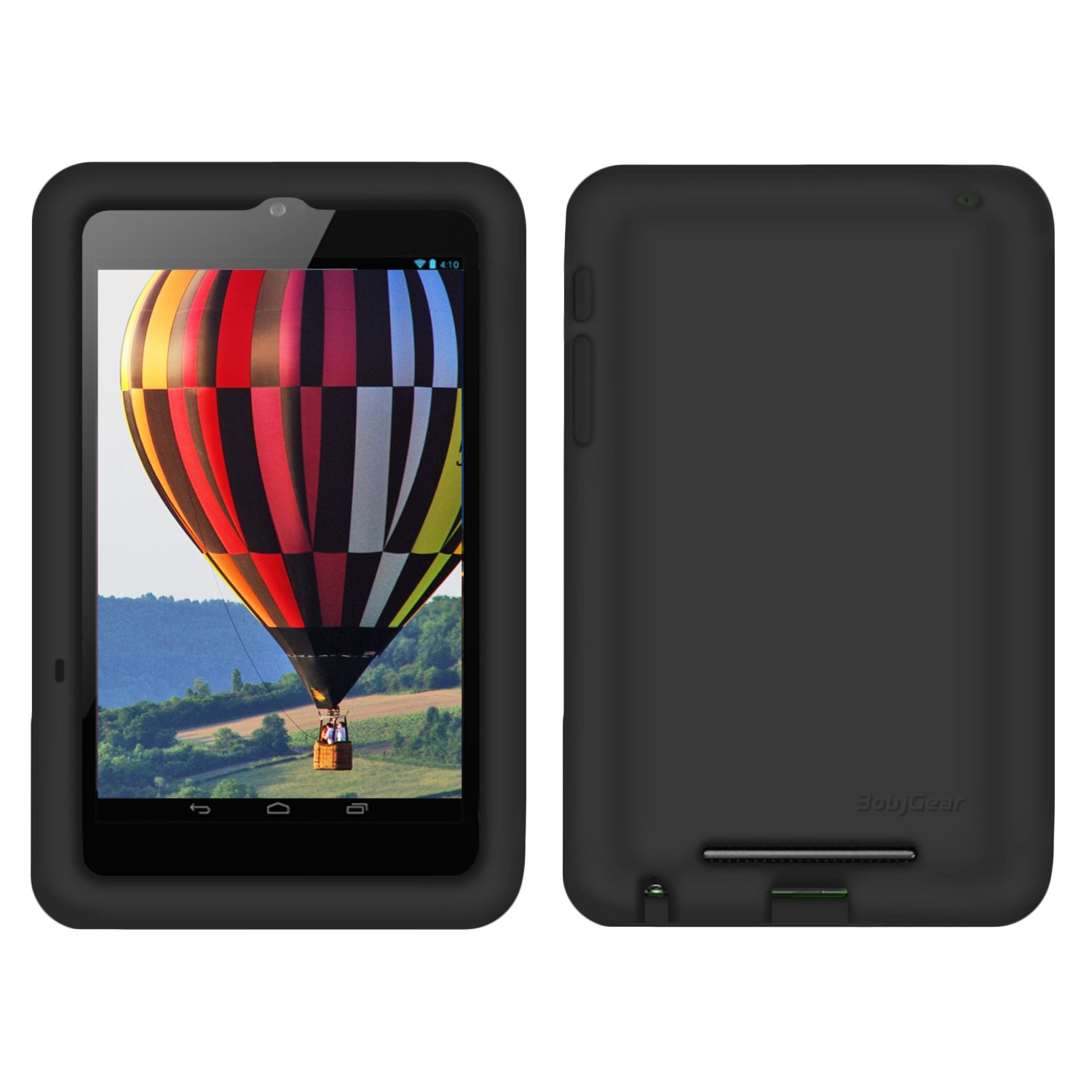 Silicone Rugged Cover Google Nexus 7 2012 Version Inch (Not FHD 2013 V)-Shockproof Kids Protection Case - szbjtech store
