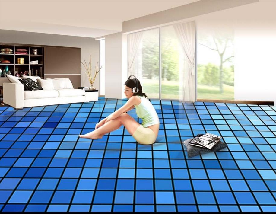 Cocina pisos de vinilo de alta calidad compra lotes for Vinilo adhesivo suelo bano
