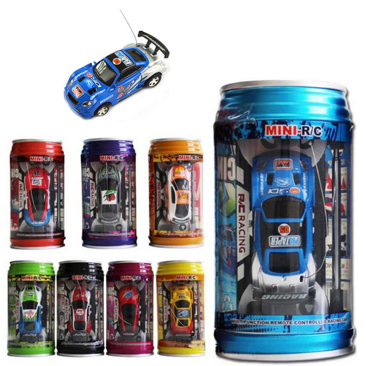 Hot Sale 2015 Electronic new baby boy Coke Can Mini Speed RC Radio Remote Control Micro Racing Car Toy VE072 T15(China (Mainland))