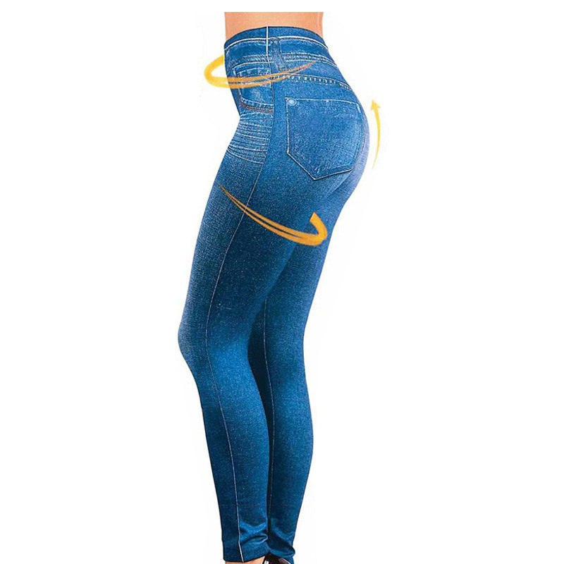 Tv Video Women Jeans Leggins Jeggings Causal Plus Size Jeggings With Two Pieces Real Pockets Blue Black Pants Hot Trousers(China (Mainland))