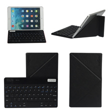 Universal Removable Wireless Bluetooth Keyboard For IOS Android Windows 7''-8'' Cover Case for iPad Mini 1/2/3/4 4 color(China (Mainland))