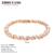 Top Quality Roman Verve 18K Rose/White Gold Plated Bracelet Jewelry  Austrian Crystal Wholesale ZYH039 ZYH040