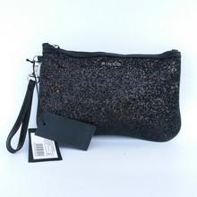 Women's handbag genuine leather women's handbag fashion noble paillette day clutch wallet