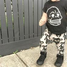 2016 baby boys beige cartoon pant cute children kid for new born child clothing heram pant long ET159(China (Mainland))