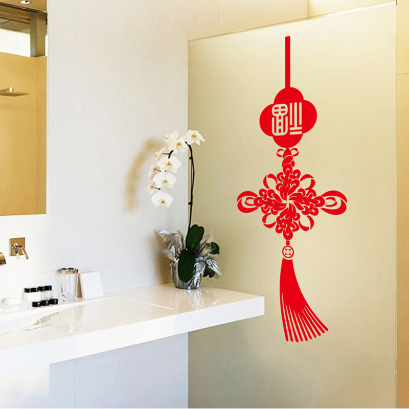 Popular chinese new year door decorations buy cheap for New year home decorations