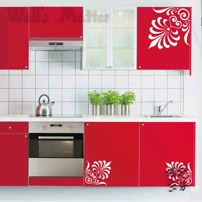 removable vinyl paper art decal decor fashion decorative With kitchen cabinets lowes with vinyl wall art nursery