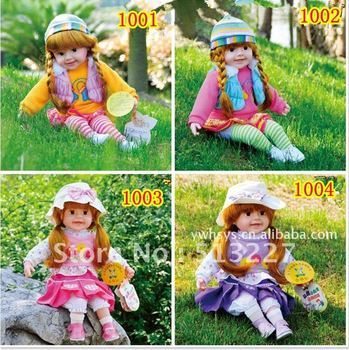 free shippment doll toys doll female will talk singing children story development toys children toys