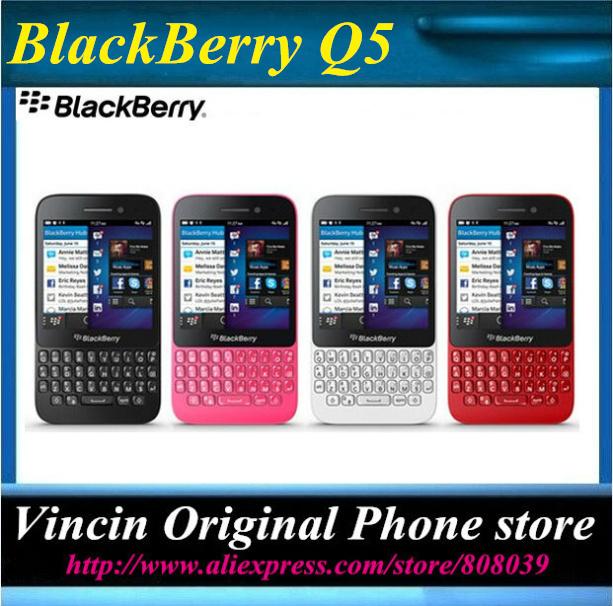 Blackberry Q5 Dual-core Original Refurbished mobile phone 3G 4G Network 5MP 2 RAM+8G ROM Phone(China (Mainland))