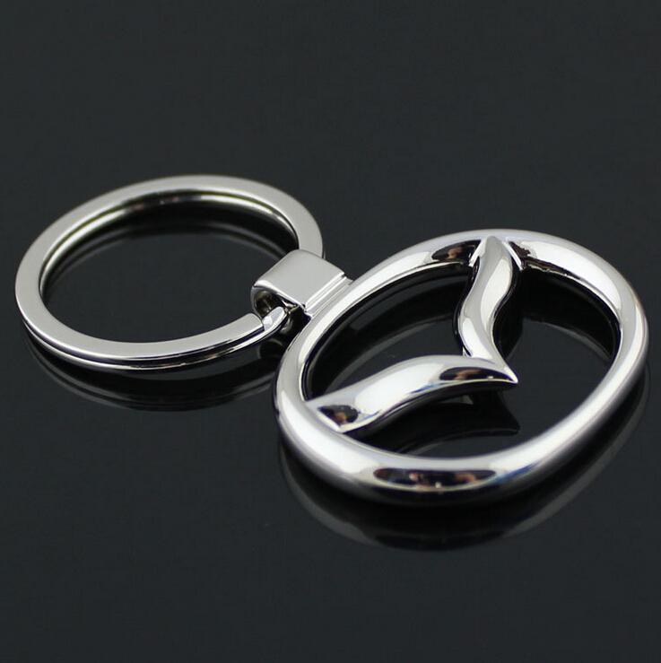 Mix Order Car Keychain Keyring For MAZDA With Logo Badge Emblem Auto YOWO<br><br>Aliexpress