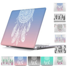 Dream catcher Feather Pattern Hard Case For Mac book Pro 13 Retina display,Print Cover case For Macbook Air 13,Air 11,Retina 15