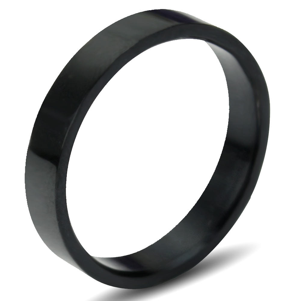 20mm Romantic Men's Wedding Black Simple Titanium Stainless Steel Ring Hot Sale(China (Mainland))