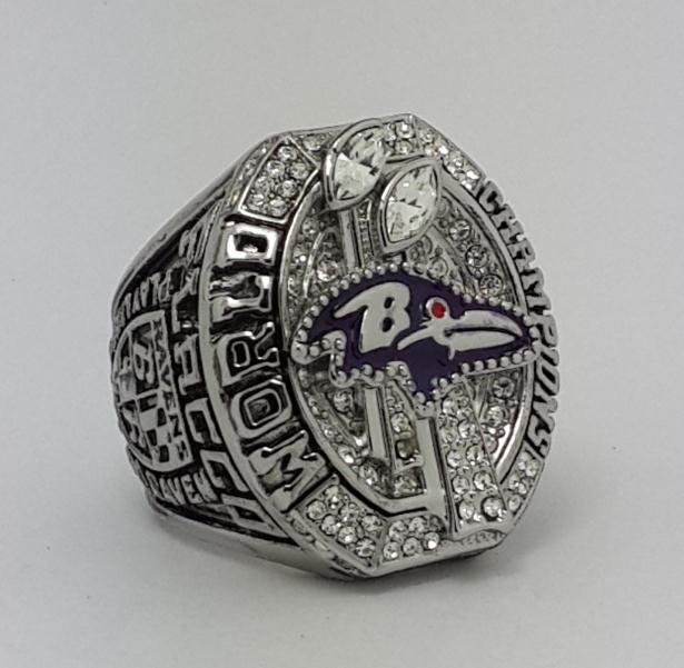 2012 NFL Baltimore Ravens XLVII Super Bowl Championship ring size 11 MVP Player Flacco in stock Back Solid Best gift for fans(China (Mainland))