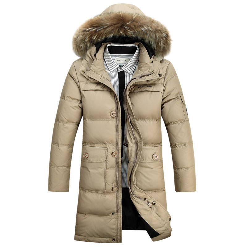 Mens Long Winter Coat. Don't be left out in the cold when the snow starts to fall and the mercury begins to dip. Stay protected from the elements, while keeping nice and warm, in a long winter coat.