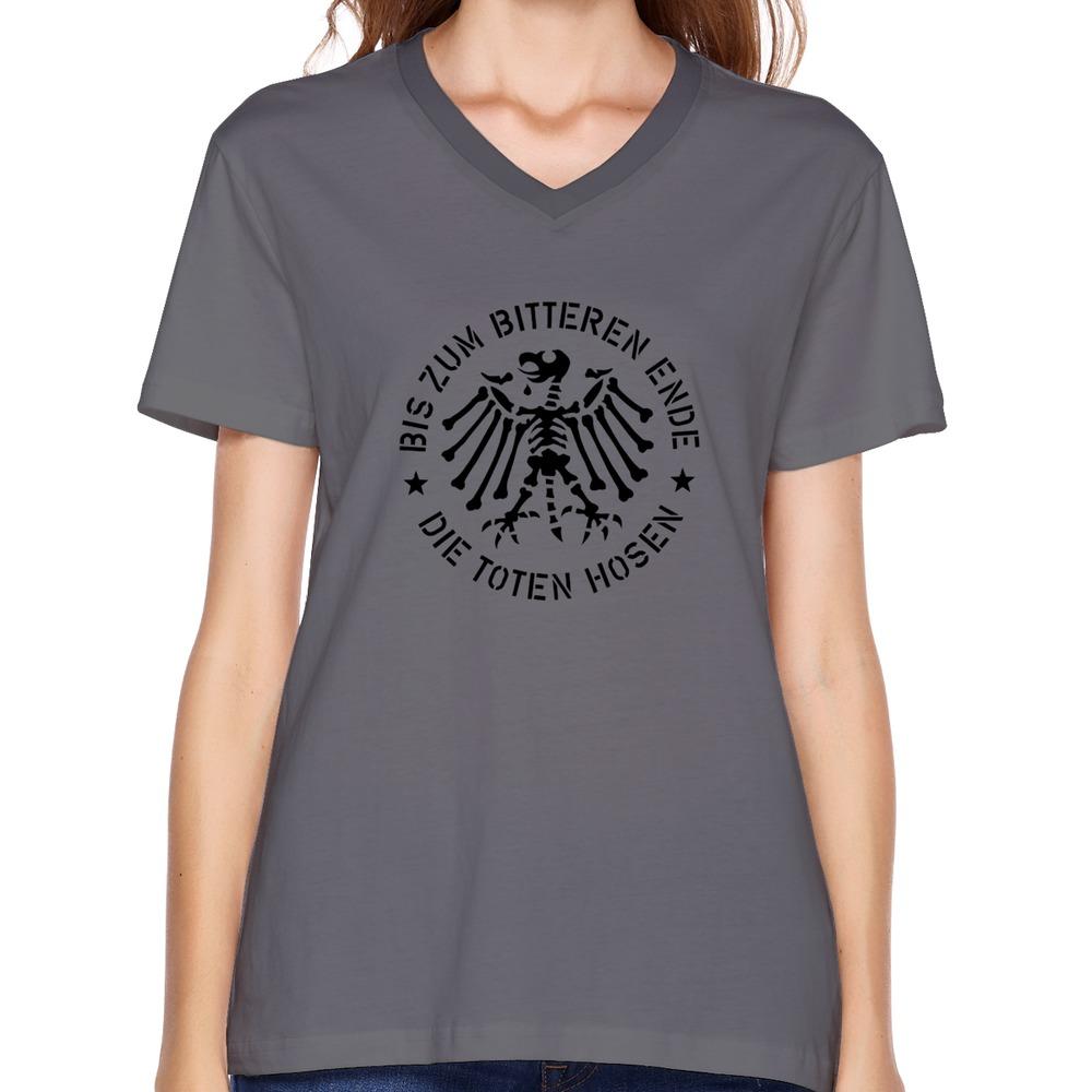 short sleeve die toten hosen women 39 s t shirts 2015 normal. Black Bedroom Furniture Sets. Home Design Ideas