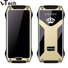 Original Vkworld Crown V8 No Camera GSM Bluetooth Mobile Phone Gorilla Glass OLED Thermal Touch Screen Dual SIM With IR Blaster(China (Mainland))