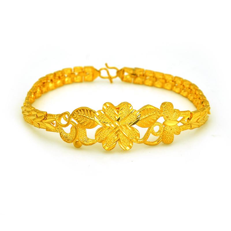 2015 hot sale 100 pure 24 karat gold plating bracelets. Black Bedroom Furniture Sets. Home Design Ideas
