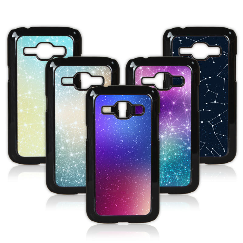 Fashion Star Pattern Colored Painted Case For Samsung Galaxy J1 J100 Cellphone Case Shell Cover(China (Mainland))