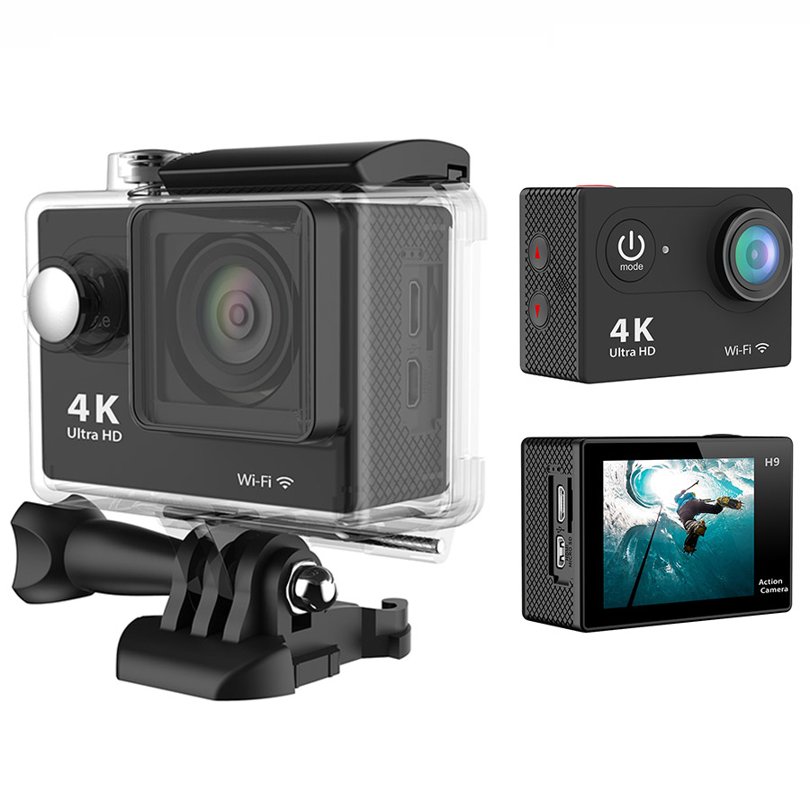 gopro hero 3 style action camera eken h9 ultra hd 4k go. Black Bedroom Furniture Sets. Home Design Ideas
