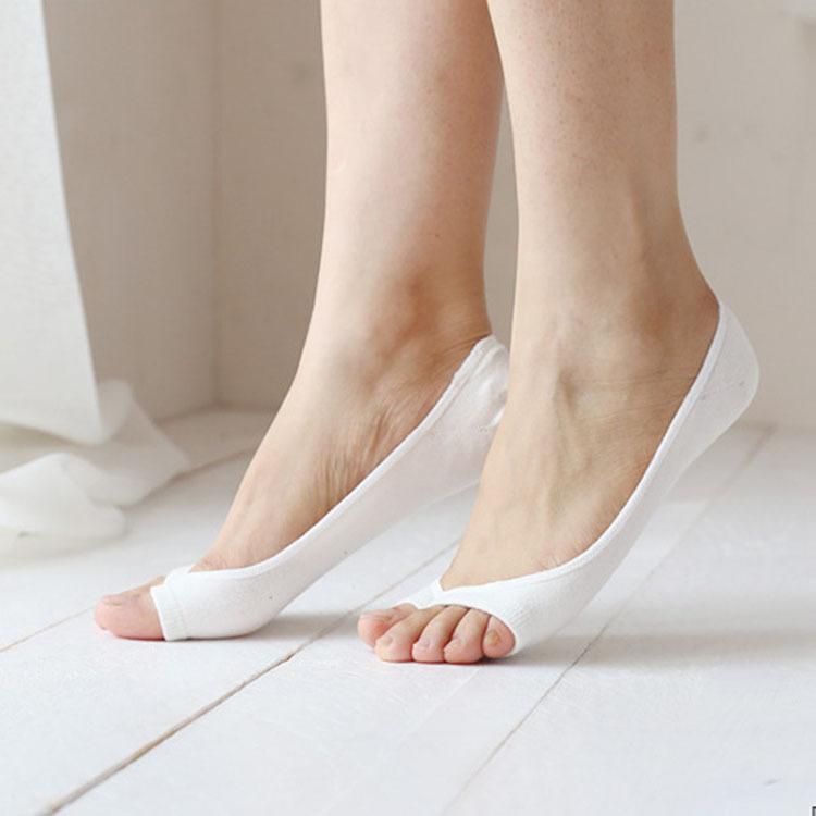 Women Summer Socks Cotton invisible Anti Slip Ankle Boat Socks Free Shipping