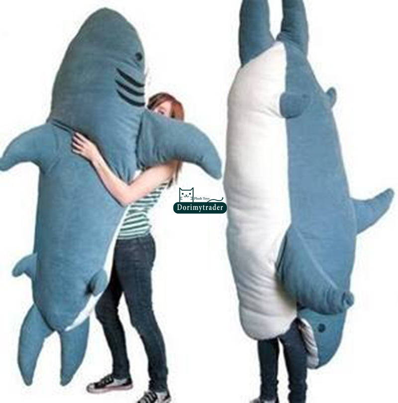 popular giant plush shark buy cheap giant plush shark lots ForLife Size Shark Plush