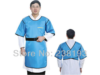 hot sale 0.35mmpb Lead rubber clothing/clothes x-ray protective radiation suits(China (Mainland))