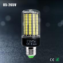 1Pcs High Lumen 5736 SMD E27 E14 3.5W 5W 7W 8W 12W 15W LED Corn Bulb light 85V-265V Constant Current No Flicker 28-156 LEDs lamp(China (Mainland))