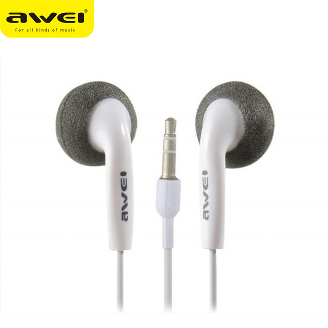 Awei-ES10 general type 3.5 mm headset support apple mobile phone Samsung HTC all kinds of mobile phones(China (Mainland))