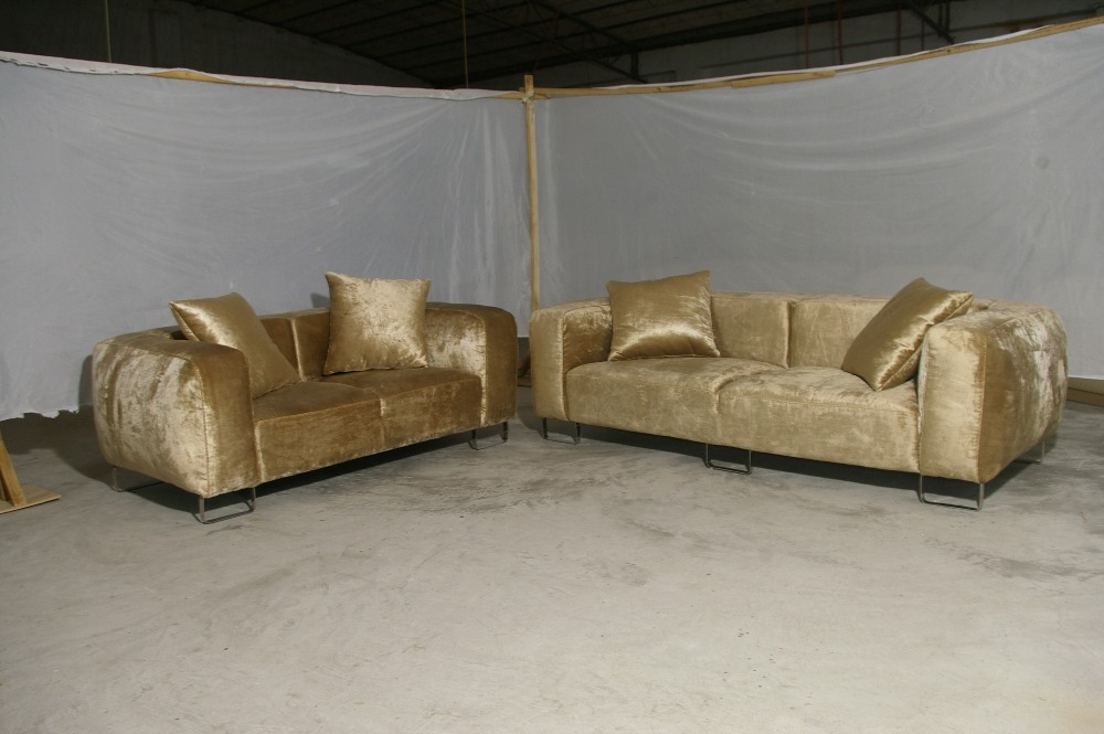Beige sofa fabric french design 2013 new living room l for Sofas modernos en l