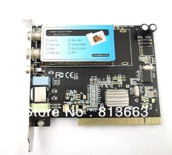 PCI Analog TV Tuner Card TVR PCI Analog TV Receiver +FM