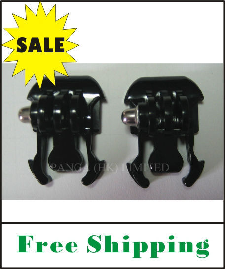 On Sale FREE SHIPPING short mounting clip/general mount assemble plug for Gopro Hero 3/Hero 2