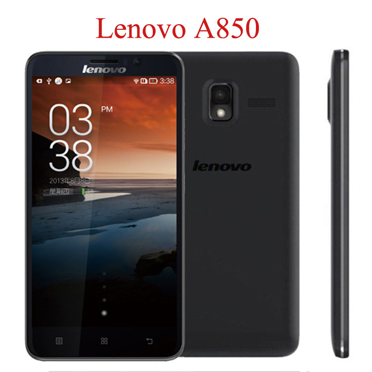 """ZK3 Original Lenovo A850+ A850 Plus 5.5"""" Android 4.2.2 MTK6592 Octa Core ROM 4GB Unlocked AT&T WCDMA GPS QHD IPS Mobile Phones(China (Mainland))"""
