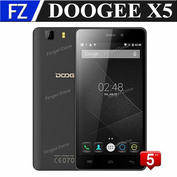 "Original DOOGEE X5 Pro X5S 5.0"" IPS HD MTK6735 quad core Android 5.1 4G LTE FDD smartphone 5MP 2GB RAM 16GB ROM dual sim russian(China (Mainland))"