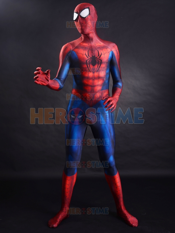 Hot Sale Spider Man costume Newest Classic 3D Printing Spandex ...