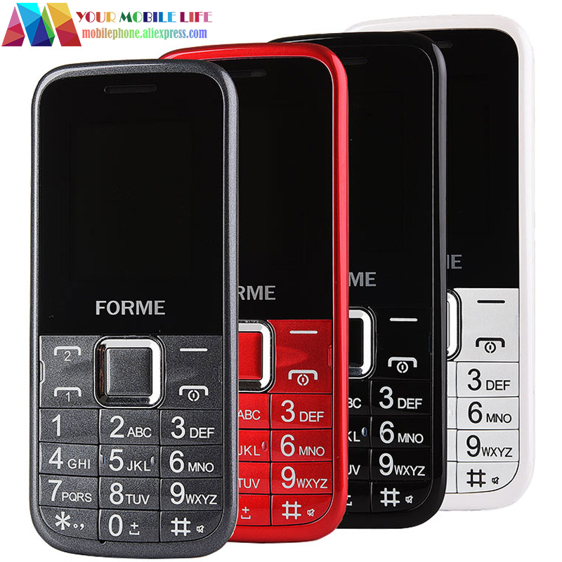 In Stock! Free shipping FORME K08 dual sim bluetooth telefon torch cheap cellphone original cell phone unlocked mobile phone(China (Mainland))