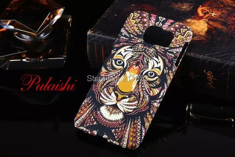 Fashion Glow dark Luminous king forest lion wolf hard cases case shell back cover Samsung galaxy s6 - Eago Technology Co., LTD. store