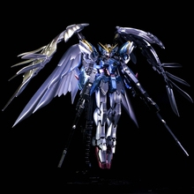 Plating color series BANDAI MG-028 Wing Gundam Zero 1/144 model 13 CM Robot Puzzle assembled boy toys Anime Christmas gifts