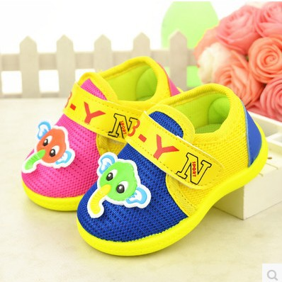 2015 autumn children tennis shoes cartoon baby shoes female male infant casual shoes non-slip rubber soft soled outdoor shoes(China (Mainland))