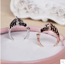Fashion Horsehead Animal Rings for women horse jewelry free shipping R184
