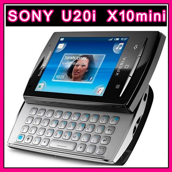 X10mini pro Original Sony Ericsson Xperia X10 mini pro U20 Unlocked Cell Phone 3G Android WIFI A-GPS 5MP Camera free shipping(China (Mainland))