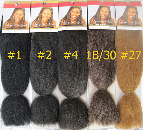 24 Quot Length Super Jumbo Braid Hair Xpression Synthetic