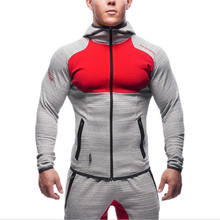 New 2016 Muscle Brothers Mens Sport Jacket Fitness Running Fashion Brand Sweatshirt Men Gym Clothing Hoody Jackets High Quality