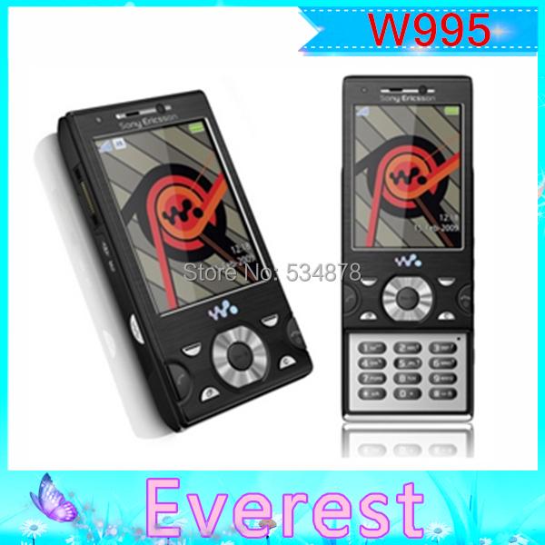 Original unlocked Original Sony Ericsson w995 mobile phones, 3G WIFI ,Bluetooth, A-GPS Support Russian keyboard(China (Mainland))