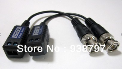 CCTV Camera Passive Video Balun BNC Connector Cat5 UTP Coaxial Cable - Eagle Technology store