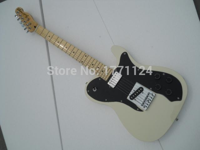 2020 Free shipping High Quality Rice white color tele guitar sell to Ameican standard TL electric Guitar in stock(China (Mainland))