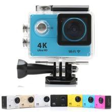 Buy 2017 New Action Camera H9 Ultra HD 4K Sport DV 1080P/60fps 2.0' Screen 170D lens Helmet Cam Go 30m Waterproof wifi sport Camera for $49.85 in AliExpress store